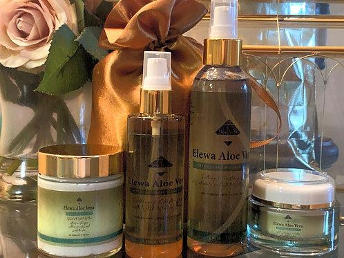 Elewa Aloe Vera and Calendula 4 Step Face Care Kit