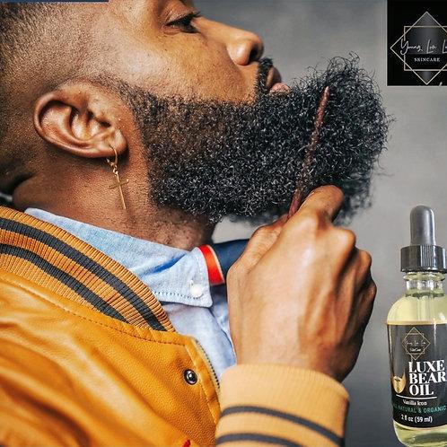 Luxe Beard Oil- Vanilla Icon