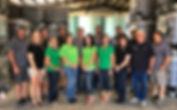 The Sims crew includes: Mike Delaney, Christy Delaney, Brett Lix, Katie Lix, Bill Markle, Samantha Gasper, Bret Wilson, Alisha Delaney, Ryan Delaney, Bob Williams, Amanda Schultze, Kathy Sims, Joe Sims, Cameron Delaney, Dan Worley