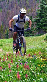 Chef Mark Mountain Biking