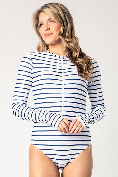 Mila true navy stripes