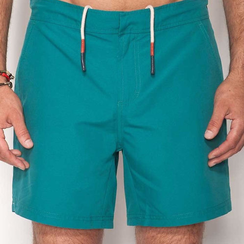 Teal Hampton Swim Trunk