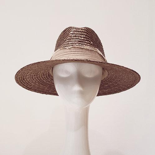 Sombrero Solange Bronce