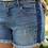 Thumbnail: Light wash jeans short