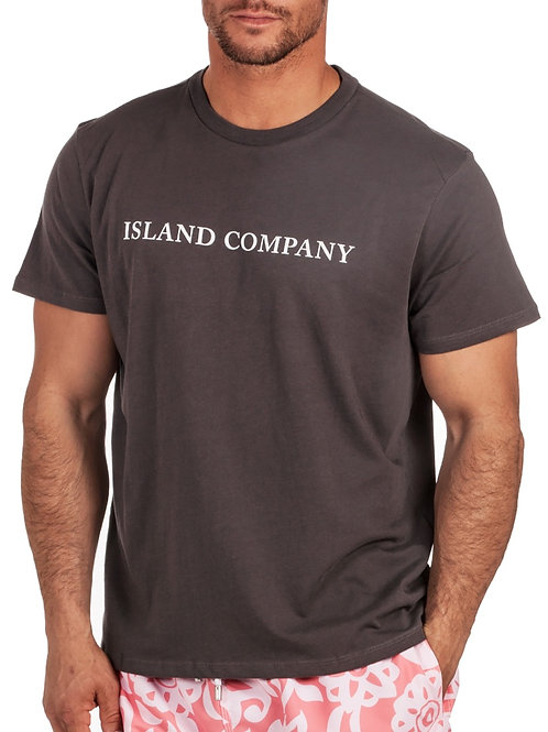 Men graphite t-shirt