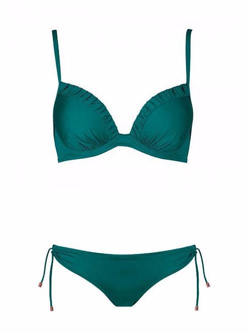 Bikini Verde solido 38E