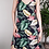 Thumbnail: Botanical navy dress