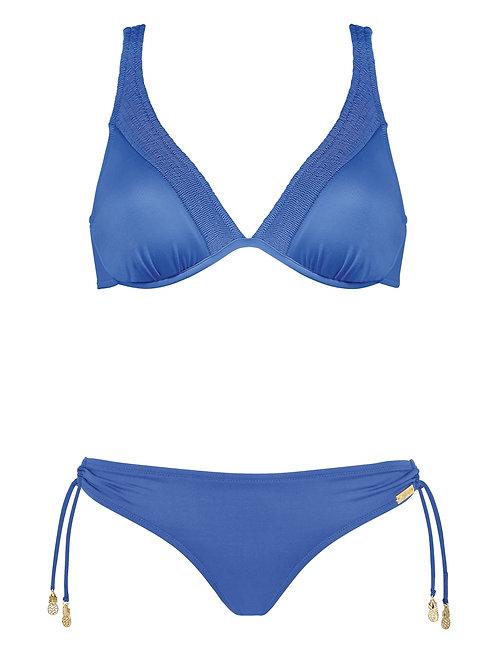Summer indigo bikini