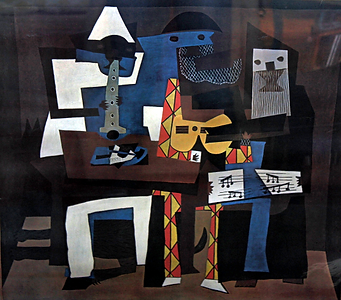 """""""The Three Musicians"""" Picasso"""