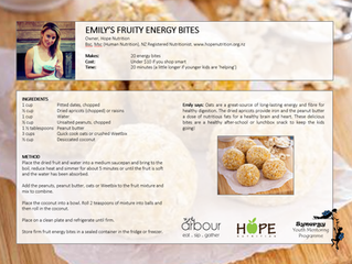 Family Cooking + Nutrition Workshops with Arbour