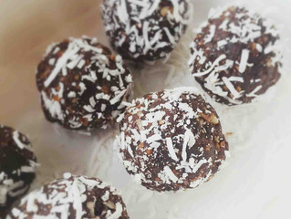 Chocolate & Coconut Bliss Balls