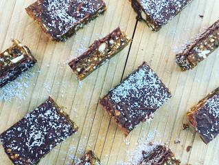 Raw Cashew, Buckwheat & Cacao Slice ~ gluten- and dairy-free