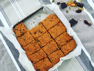 A Bit of This and A Bit of That Cookie Slice ~ gluten- + dairy-free