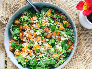 Roast Vegetable + Quinoa Salad