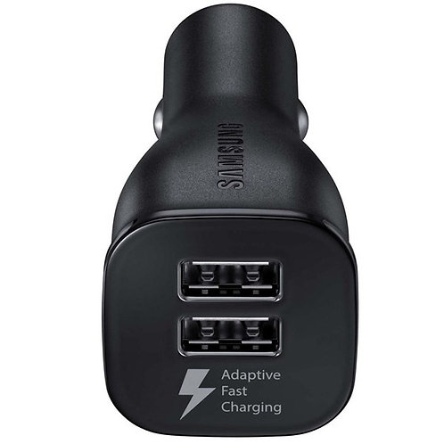 SAMSUNG DUAL PORT ADAPTIVE FAST IN CAR CHARGER