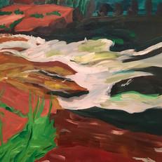 Oak Creek rapids