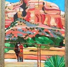Horse at Lizard Head Canyon