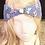 Thumbnail: Periwinkle Garden head-wrap