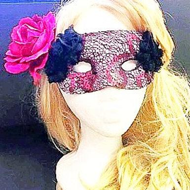Wine Lace mask