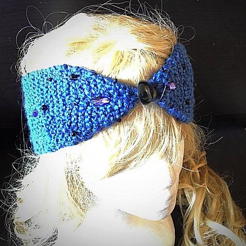 Wavy Mermaid head-wrap