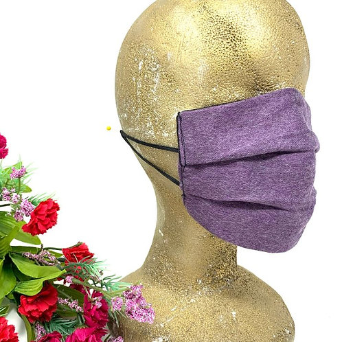 Posh Purple, Face Mask for Adults.