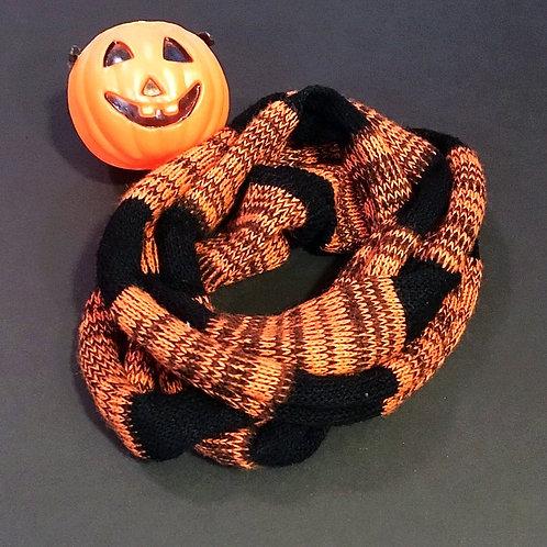 Halloween infinity scarf