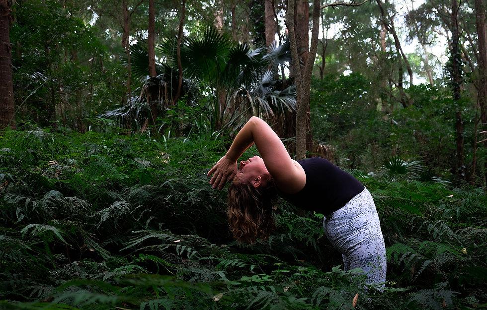 Thirroul Yoga Shala Backbend Sublime Point Alice McConnell Photography #thirroulyoga
