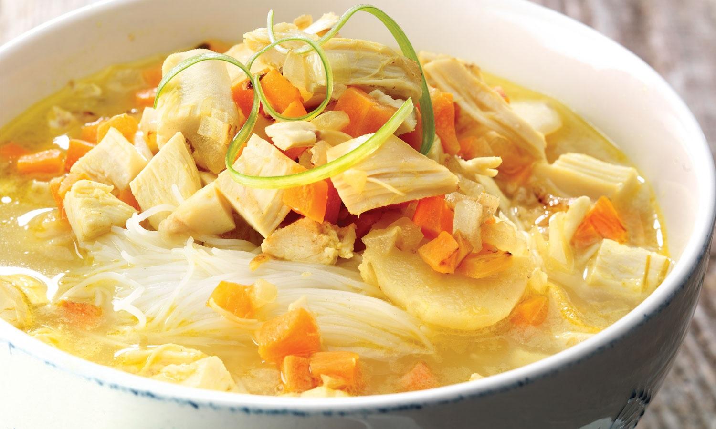 soupe à l'orientale