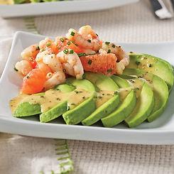 salade-d-avocats-crevettes-et-pamplemous