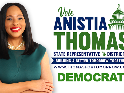 Interview with Political Candidate at MI House of Representatives District 7, Anistia Thomas