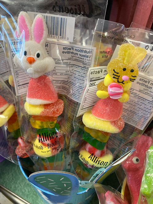 Easter kabobs