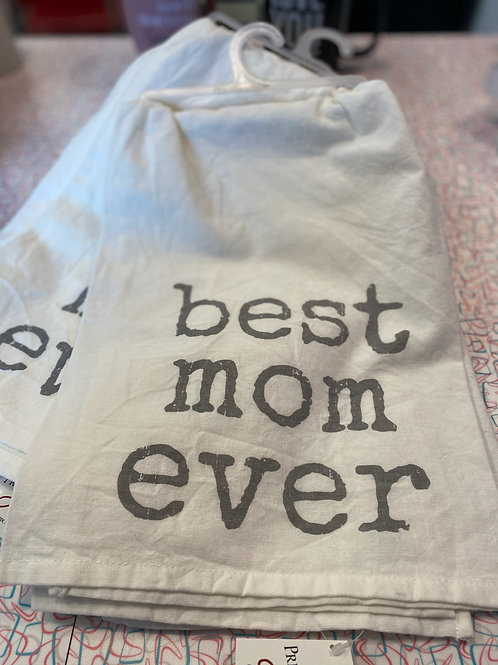 Best mom ever hand towel