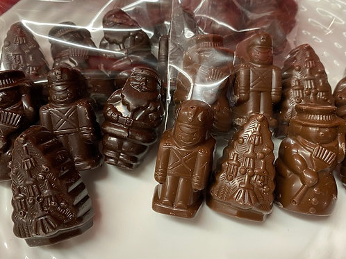 Filled chocolate pals