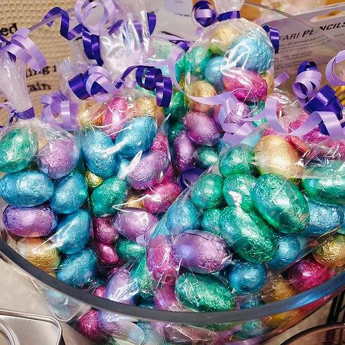 chocolate foil eggs