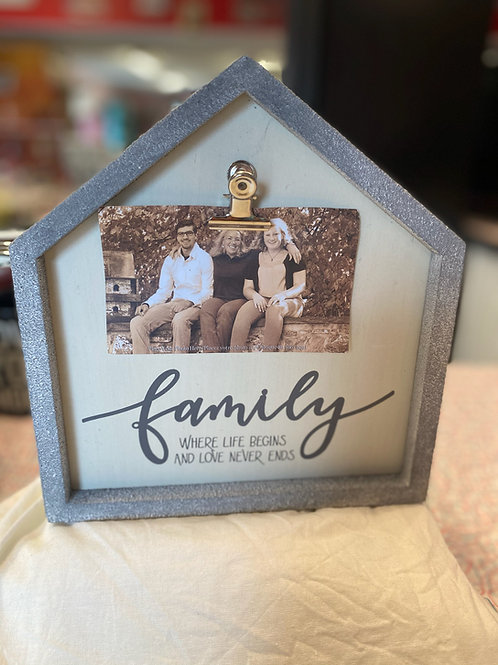 Family clip frame