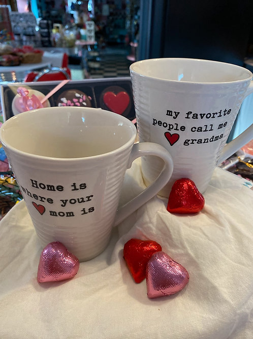 Mom & grandma mugs