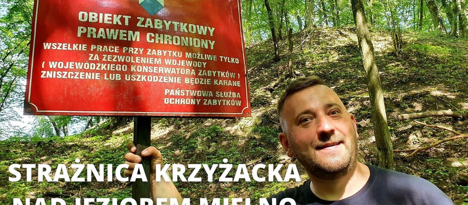 Krzyżacka strażnica nad jeziorem Mielno
