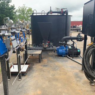 Chemical Mixing Unit
