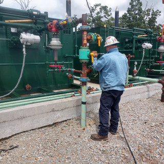 Production Site Greasing