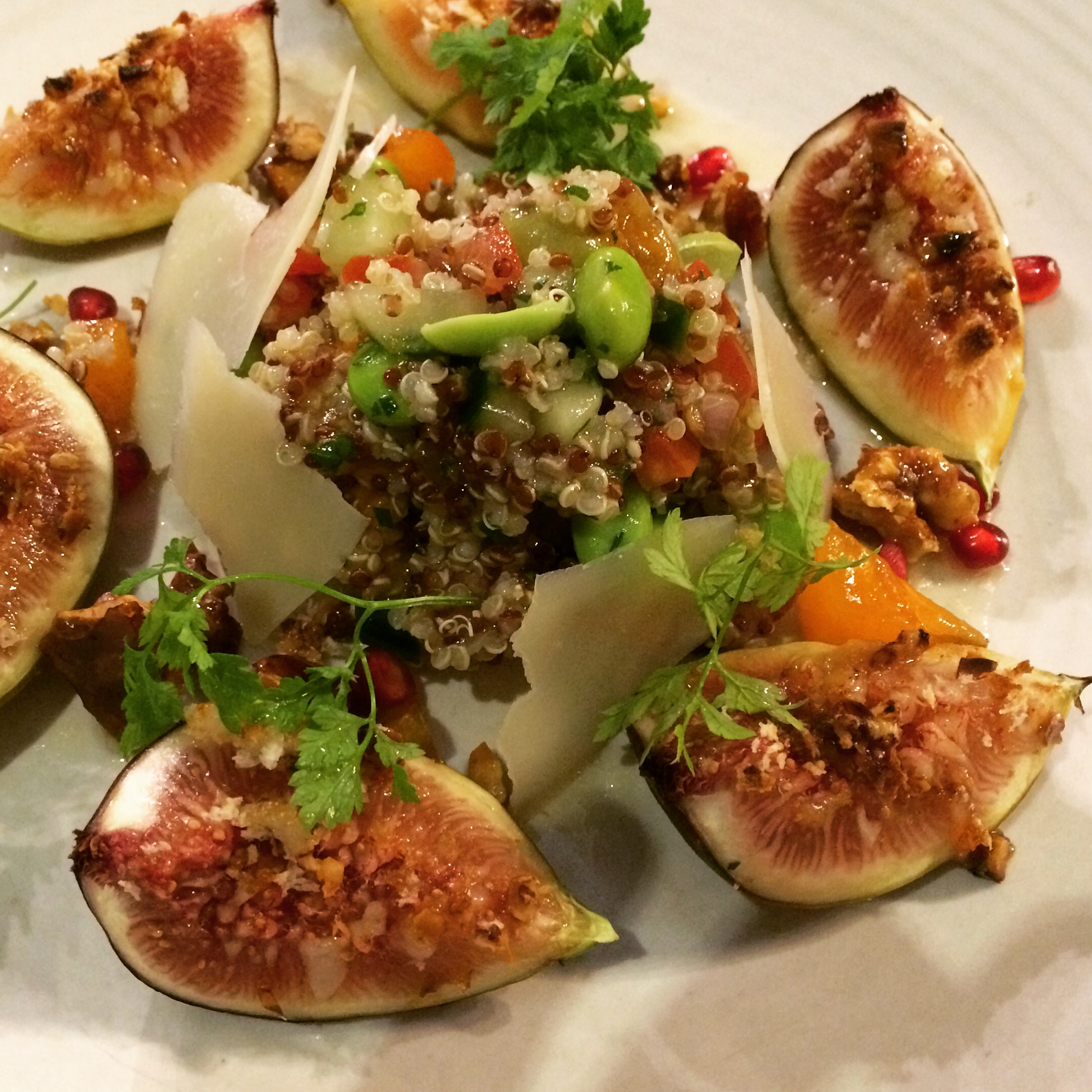 Figs and Organic Quinoa