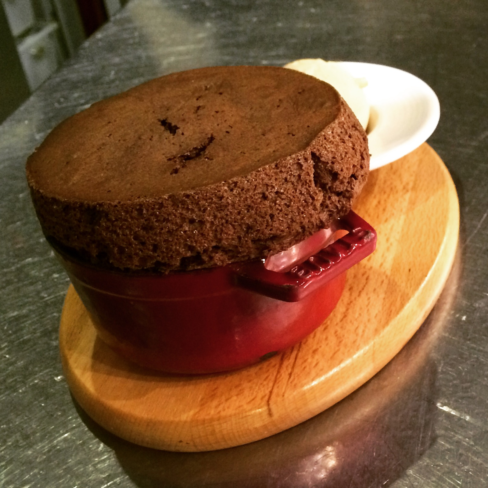 Signature Dessert Chocolate Souffle