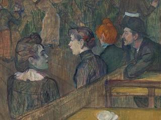 Obras do pintor francês Henri de Toulouse-Lautrec ficam até outubro no Masp