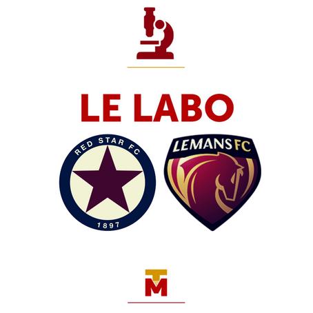 Red Star vs Le Mans FC : Le Labo