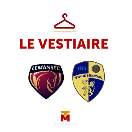 Le Mans vs Saint-Brieuc : Le Vestiaire