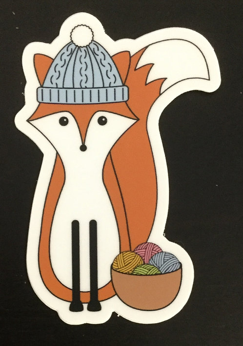 Knitter Stickers Various Designs