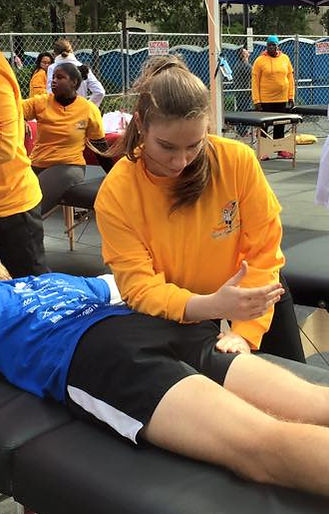 Sierra Michalkow LMT Massage Therapy NYC Volunteering for Tunnel to Tower Race