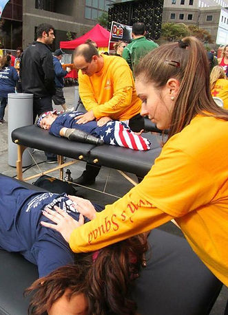 Sierra Michalkow, LMT NYC Massage Therapy, Volunteering at the Tunnel to Tower Race