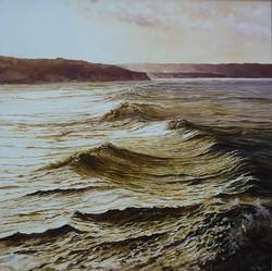 Evening Tide,oil,60cm x 60cm.jpg