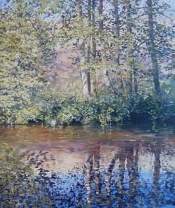Summer Water,oil,30cm x 26cm.