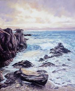 Incoming Tide,oil,50cm x 60cm.JPG